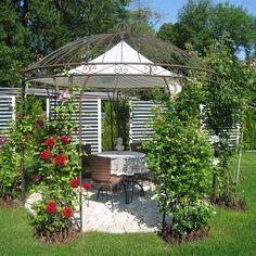 Eisenpavillon Gartenpavillon Rosenpavillon Metallpavillon Pavillon Eisen 300cm   Garten & Terrasse, Gartenbauten & Sonnenschutz, Pavillons   eBay!