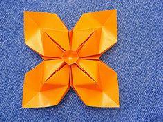 Origami: Virág Argyle - Diamond Virág