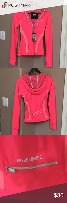 ❤️final price❤️Abercrombie & Fitch active jacket Brand new, I loved the Color, it's bright and. vibrant! But it's too small for me and I never got an chance to go exchange it.... Abercrombie & Fitch Jackets & Coats Pea Coats