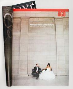 Art Gallery Of Ontario (AGO) Ad campaign in Wedluxe Mag Art Gallery Of Ontario, Exciting News, Wedding Designs, Boston, Wedding Photos, Wedding Planning, Groom, Campaign, Magazine