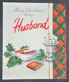 221 best cards christmas boys images on pinterest in 2018 vintage christmas card husband guess she didnt want husband around for m4hsunfo
