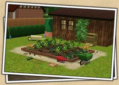Around the Sims 3 | Downloads | Objects | Outdoor | Gardening
