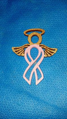 Breast Cancer Angel Ornament