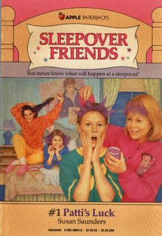 The Sleepover Friends series by Susan Saunders (there are dozens of them!) I read all these! 90s Childhood, My Childhood Memories, Ya Books, Good Books, Teen Books, Children Books, Teen Series, Book Series, Friend Book