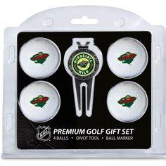 Team Golf Minnesota Wild Premium Golf Gift Set