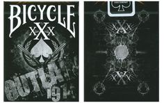 Bicycle Outlaw Playing Cards. $9.95 #playingcards #poker #games
