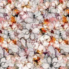 Floral - juliana veiga - Textile Design & Illustration