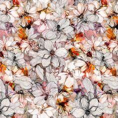Floral - juliana veiga - Textile Design & Illustration http://julianaveiga.com