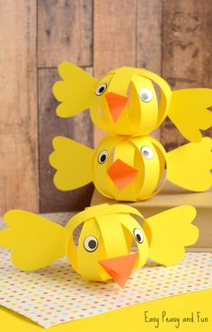Paper Chick Craft
