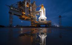 Space Shuttle Atlantis...