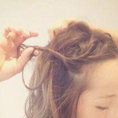 ☆脱コンサバ、カジュアルハーフアップ☆ Hair Arrange, Bobby Pins, Hair Beauty, Hair Accessories, Hair Styles, Womens Fashion, Image, Hair, Hair Plait Styles