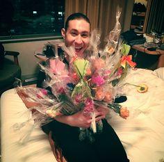 おうえんをありがとう!みんなさん大好き!❤️  Jason Brown(USA) : NHK Trophy 2016