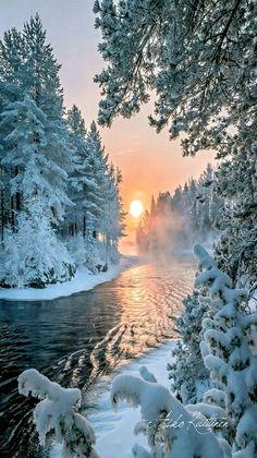 Portofolio Fotografi Landscape - Winter Sunset                                                                 ...  #LANDSCAPEPHOTOGRAPHY
