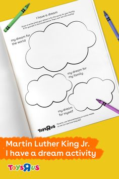 Wise. Courageous. Powerful. There are so many words to describe Dr. Martin Luther King, Jr., his achievements and contributions to the Civil Rights Movement and the United States. Today we commemorate the remarkable life of an American leader and help our young ones to realize the power of believing and achieving. Use our printable to help your little ones realize their own dreams, then help and encourage them to make each come true!