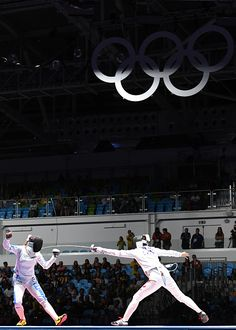 Best of Day 1 - Italy's Rossella Fiamingo competes against China's Sun Yiwen during their womens individual epee semifinal bout as part of the fencing event of the. The Fencer, Fencing Sport, 2016 Pictures, Rio Olympics 2016, Rio 2016, Sports Women, Most Beautiful Pictures, Competition, Athlete