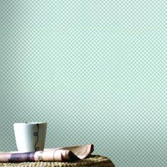behang ferm wybertjes mint, voor achter bedje? | mees | pinterest, Deco ideeën