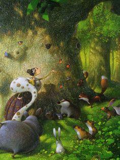illustratie diertjes