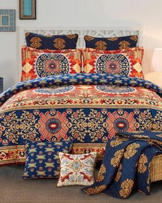 Get 3 Piece Mixed Print Comforter Set On Sale today at Stein Mart! prices & check availability for 3 Piece Mixed Print Comforter Set. Get it right now at your nearest store in Indianapolis. Bedroom Sets, Bedroom Decor, Apartment Decorating On A Budget, Upholstered Beds, Bedroom Accessories, Bed Styling, Luxury Bedding, Glam Bedding, New Room