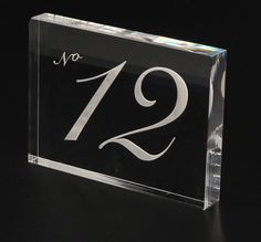 Restaurant Table Number Custom Made For Restaurants And Cafes - Custom restaurant table numbers