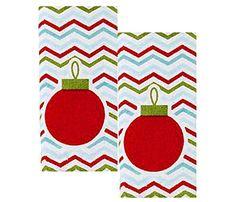 "Just For Bath Festive Holiday Red Ornament Fingertip Towel- 11"" X 17 ""- Set of 2 Just for Bath http://www.amazon.com/dp/B019CQM0KA/ref=cm_sw_r_pi_dp_pTgCwb1CBXK8S"