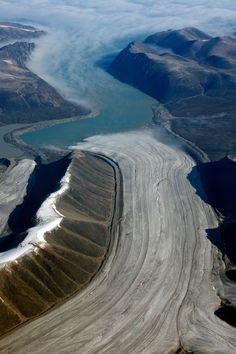 Baffin Island Glacier 1 Canada.