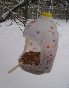 How to Recycle Plastic Bottles for Bird Feeders, Creative Ideas for Recycled Crafts