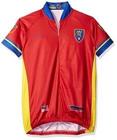 f76a5ead3 MLS Real Salt Lake Womens Primary Short Sleeve Cycling Jersey XLarge Red   gt  gt