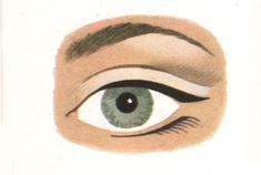 Concise illustrated history of makeup. Get the mod swinging sixties groovy chick look of Twiggy Lower Lashes, False Lashes, 1960s Makeup Tutorial, Vintage Makeup, Mascara, Eye Makeup, Glamour, Eyes, History