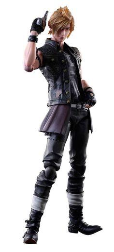 Figura Prompto 28 cm. Final Fantasy XV. Play Arts Kai. Square-Enix  Figura articulada del personaje de Prompto de 28 cm de la línea Play Arts Kai perteneciente al videojuego Final Fantasy XV, 100% oficial y licenciada y que viene con accesorios en una caja con ventana.