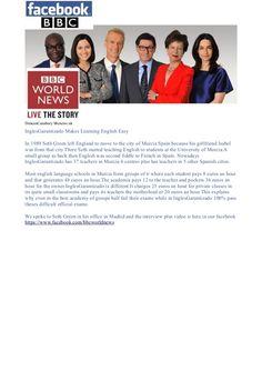bbc-news-articulo-sobre-academia-idiomas-inglesgarantizado-murcia-madrid by InglesGarantizado Murcia via Slideshare