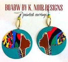 On & On Headwrap Earrings souljah girl by BOABW on Etsy