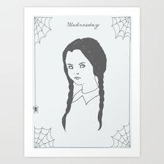 Wednesday Addams - #TheAddamsFamily #Wednesday #WednesdayAddams #HalloweenQueen #Goth #Gothic #Gothabilly #GothGirl #GothLife #GothStyle #Alternative #Macabre #Vamp #Vampabilly #Lowbrow #LowbrowArt #CreepyArt #CreepyGirl #CreepyGirlsClub #CreepyGirls #HorrorGhoul #HorrorFan #GlamourGhoul