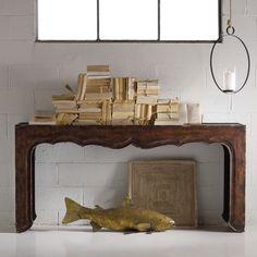 Hooker Furniture Melange Fallon Console Table - 638-85019
