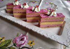 Rózsa szörpös mézes piskótás szelet | Izabela Ráczová receptje - Cookpad receptek Vanilla Cake, Cake Recipes, Treats, Sweet, Food, Sweet Like Candy, Candy, Goodies, Easy Cake Recipes