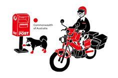 Mr. Postman: Part2 on Behance