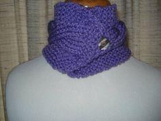 Lavender Neck Warmer by joandben on Etsy, $27.00