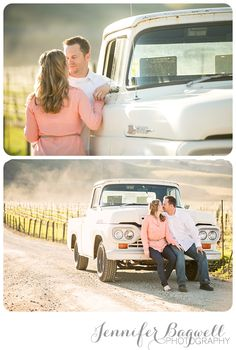 country engagement session - Incorporate Matts truck instead. :)