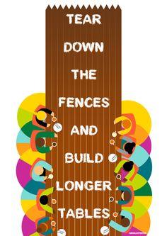Tear Down The Fences on Behance