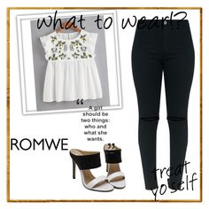 """""""Romwe contest"""" by melisadoll ❤ liked on Polyvore"""