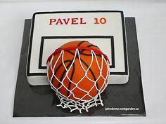 Výsledek obrázku pro basketball dort