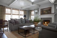 Winnetka Family Room  Family Room  Great Room  Contemporary  TraditionalNeoclassical  Transitional by Michael Del Piero Good Design