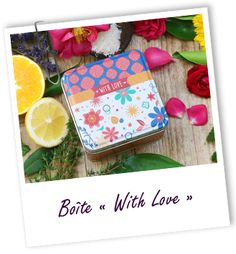 Boîte en métal WITH LOVE Aroma-Zone, 1.90