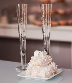 "Tiered doughnut ""wedding cake"" - from Jelly Modern Doughnut in YYC."