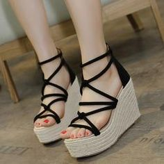 08f84fe0696b WOMEN S SANDALS. Platform Wedge SandalsWedge ShoesPlatform ...