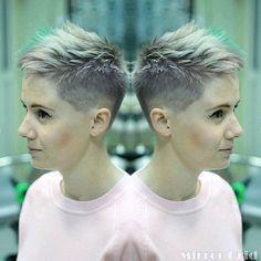 Die 10 Besten Bilder Von Undercut Frisuren Frauen Frisuren