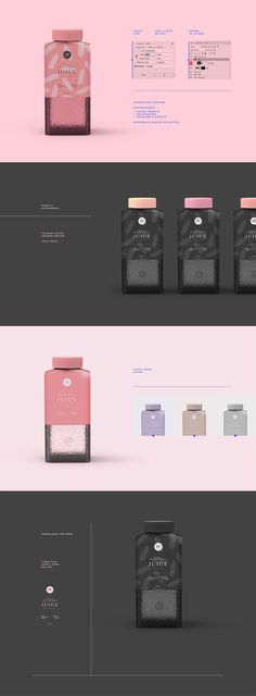 Free Juice Bottle Mockups Free is a lovely mockup coming from Minton Studio. It comes in PSD with hi-res of px at 300 DPI. It was made for you to use it in your professional showcasing of design projects or whatever you like. via Creativetacos Web Design, Label Design, Graphic Design, Package Design, Design Layouts, Bottle Packaging, Bottle Mockup, Juice Packaging, Skincare Packaging