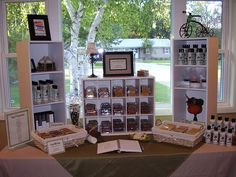 My craft show booth display by UnapologeticMe, via Flickr