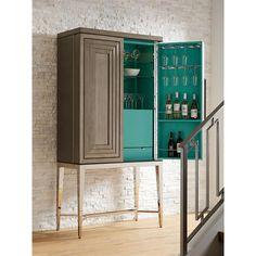 Tall Bar Cabinet, Modern Bar Cabinet, Home Bar Cabinet, Wine Rack Cabinet, Modern Cabinets, Cabinet Ideas, Bar Storage Cabinet, Corner Bar Cabinet, Liquor Cabinet