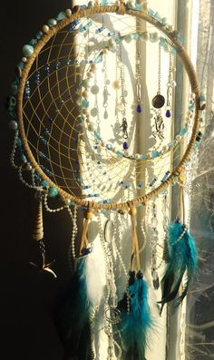 "Authentic Native American Crescent Moon by CelestialCatchers ""When mermaids dream..."""