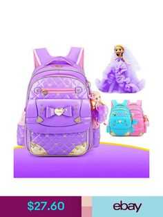 Girls  Accessories Chic Kids Waterproof Backpack For Girls Children Primary  Student School Book Bag ecb0236a4267b